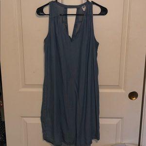 Chambray dress size medium